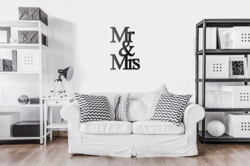 Mr and Mrs w pokoju dziennym