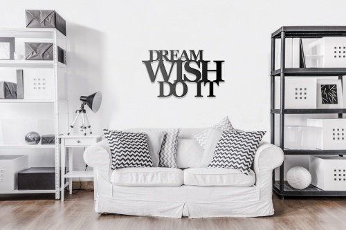 Dream wish do it w pokoju dziennym