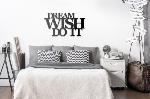 Dream wish do it skandynawski styl