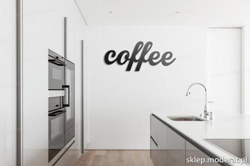 dekoracja na ścianę Coffee w kuchni
