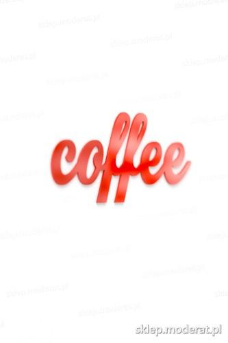 Oryginalny napis ''Coffee'' - drewniany napis na ścianę efekt lepszy od naklejki