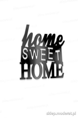 Oryginalne napisy ''Home sweet home'' - drewniany napis na ścianę efekt lepszy od naklejki