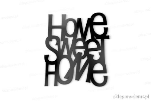 Ciekawe napisy ''Home sweet home'' - drewniany napis na ścianę efekt lepszy od naklejki
